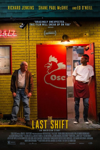 Last Shift, The movie poster
