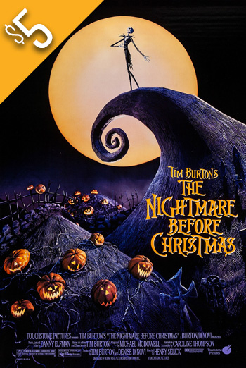 Nightmare Before Christmas, The (1993) movie poster