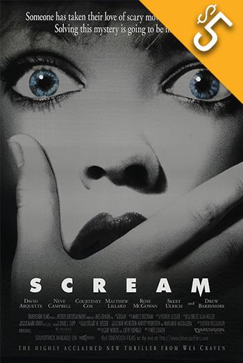 Scream (1996) movie poster