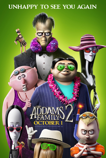 Addams Family 2, The - in theatres 10/01/2021