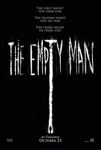 Empty Man, The movie poster