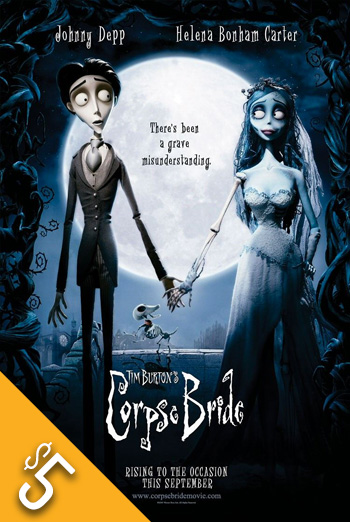 Tim Burton's Corpse Bride (2005) movie poster