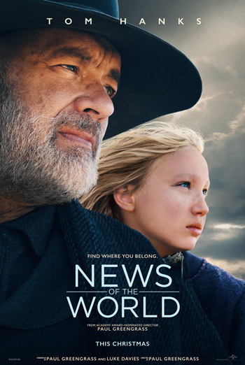 News Of The World - in theatres 12/25/2020