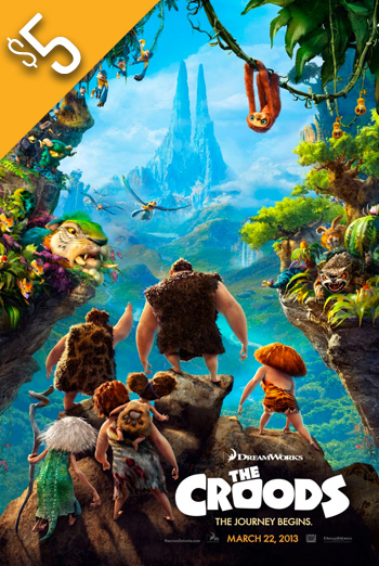 Croods, The (2013) movie poster