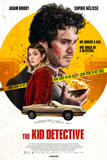 Kid Detective, The movie poster