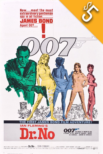 Dr. No (1962) movie poster