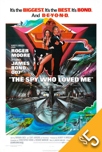 Spy Who Loved Me, The (1977) movie poster