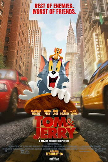 Tom & Jerry: The Movie movie poster