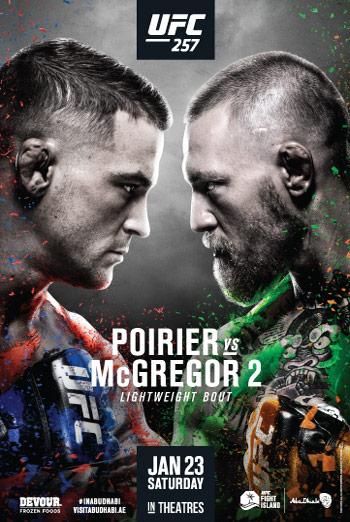 UFC 257: Poirier vs. McGregor 2 movie poster