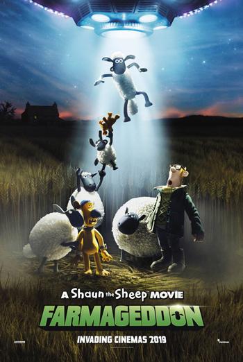 Shaun the Sheep Movie: Farmageddon, A movie poster