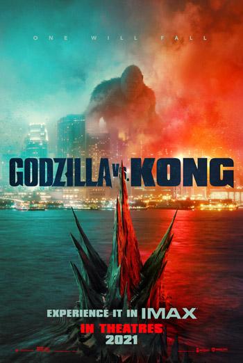 Godzilla vs Kong (IMAX) movie poster