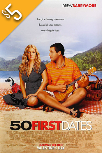 50 First Dates (2004) movie poster