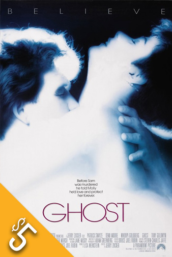 Ghost (1990) movie poster