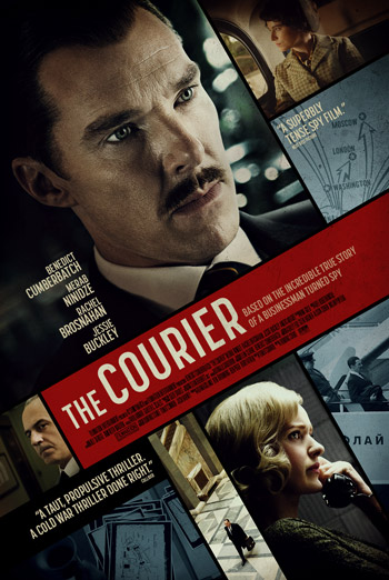 Courier, The movie poster