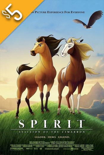 Spirit: Stallion of the Cimarron (2002) movie poster