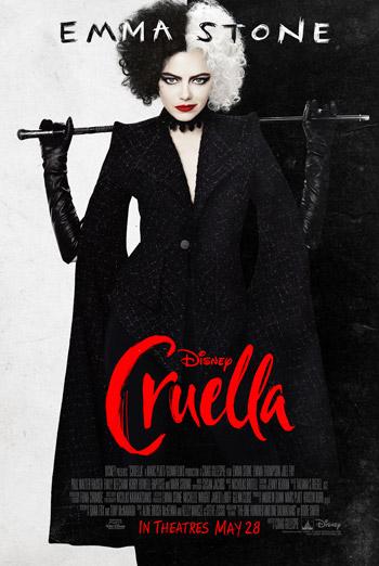 Cruella movie poster
