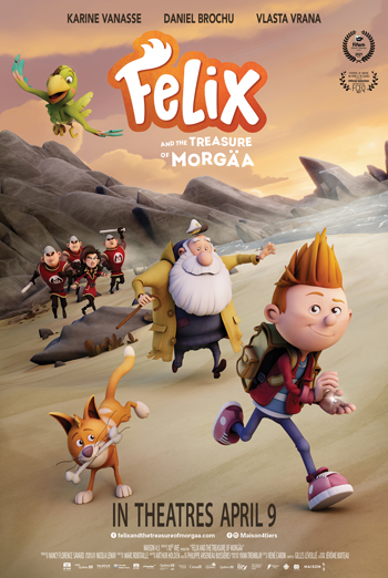 Felix and the Treasure of Morgaa movie poster