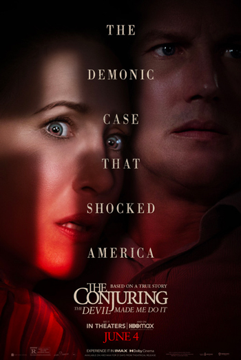 Conjuring: The Devil Made Me Do It, The movie poster