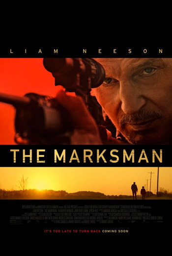 Marksman, The movie poster