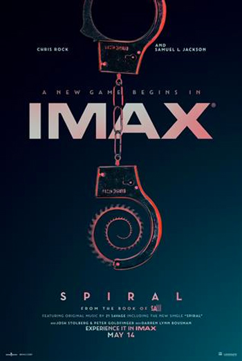 Spiral: From the Book of Saw (IMAX) movie poster