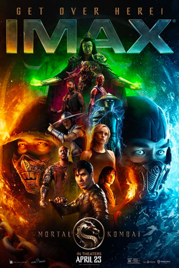 Mortal Kombat (IMAX) movie poster