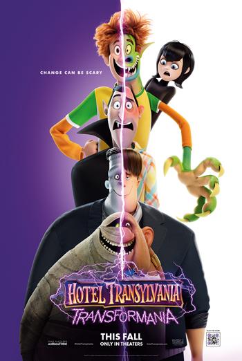 Hotel Transylvania:Transformania movie poster