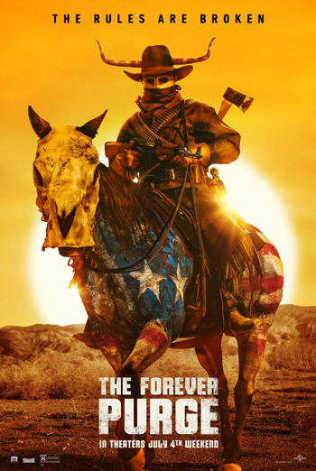 Forever Purge, The movie poster