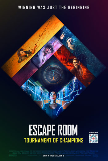 Escape Room: Tournament of Champions - in theatres 07/16/2021