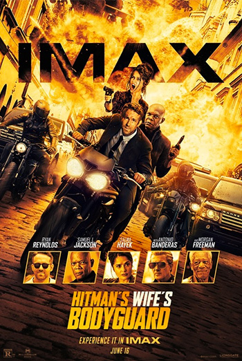 Hitman's Wife's Bodyguard, The (IMAX) movie poster