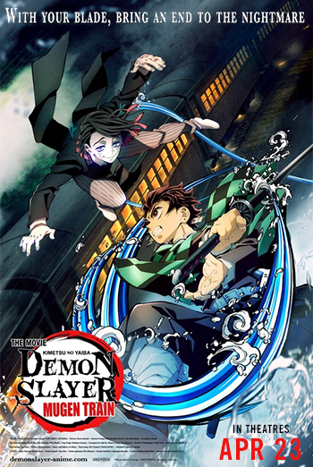Demon Slayer The Movie: Mugen Train (English Dub) movie poster