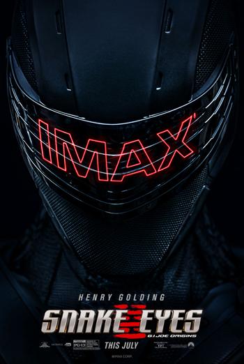 Snake Eyes: G.I. Joe Origins (IMAX) movie poster