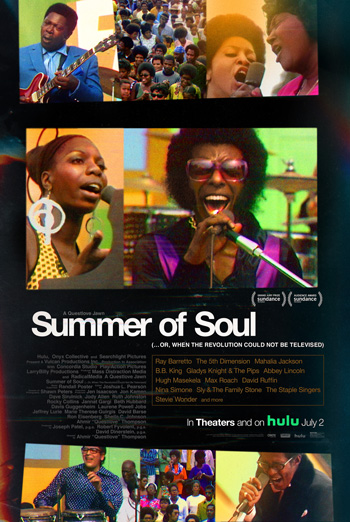 Summer of Soul (...Or, When the Revolution Could N movie poster