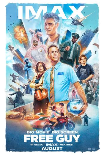 Free Guy (IMAX) movie poster