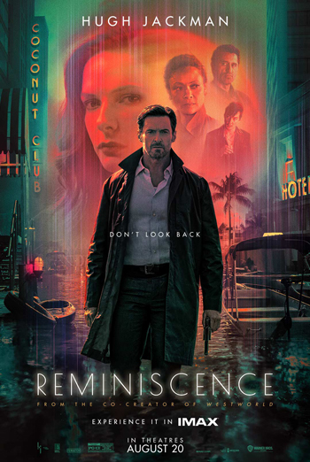 Reminiscence (IMAX) movie poster
