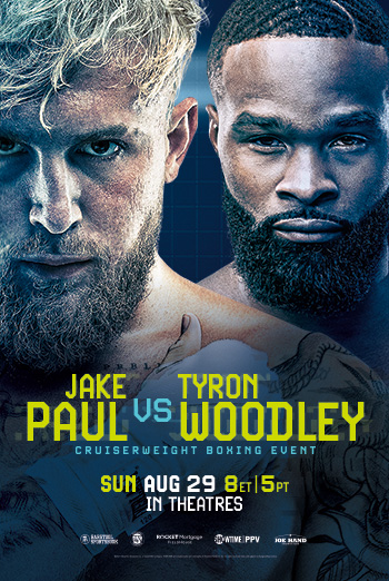 Showtime PPV: Jake Paul Vs. Tyron Woodley movie poster