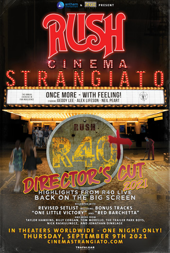 RUSH Cinema Strangiato: The Director's Cut movie poster