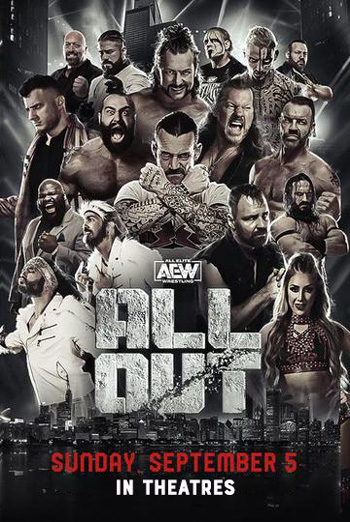 AEW - All Out movie poster