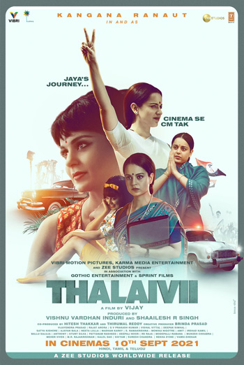 Thalaivii (Tamil W/E.S.T.) movie poster