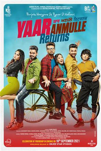Yaar Anmulle Returns (Punjabi W/E.S.T.) movie poster
