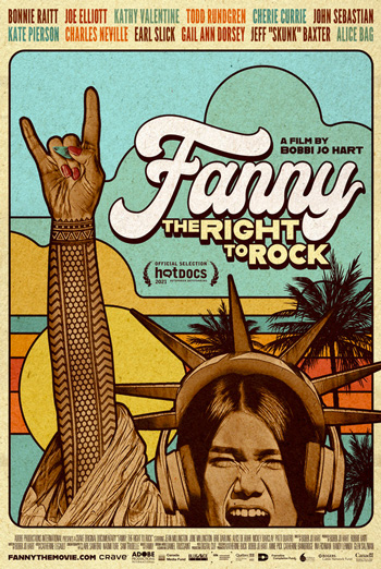 Fanny: The Right To Rock - in theatres 10/18/2021
