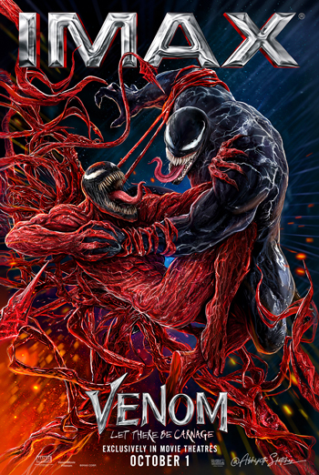 Venom: Let There Be Carnage (IMAX) movie poster