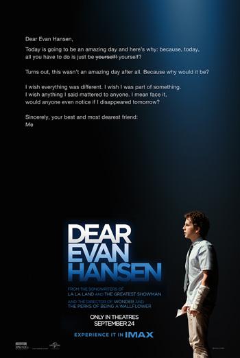 Dear Evan Hansen (IMAX) movie poster