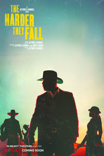 Harder They Fall, The movie poster