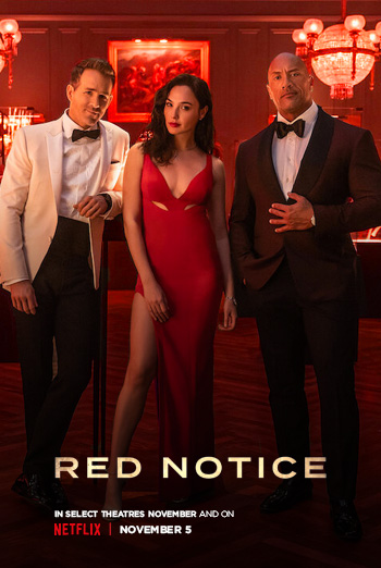 Red Notice movie poster