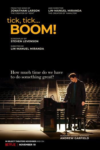 tick, tick.. BOOM! movie poster